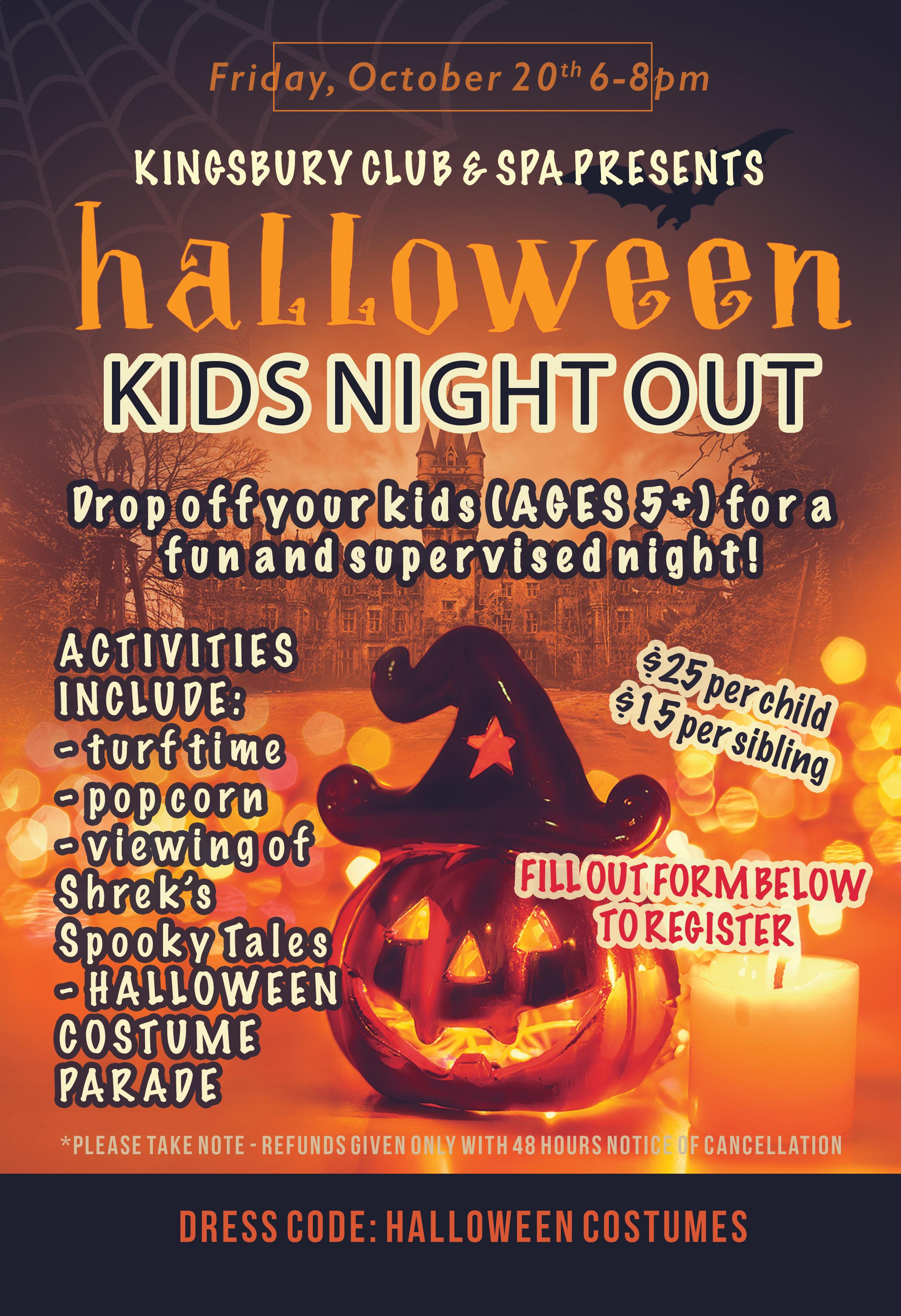 Kids Night Out Halloween 2